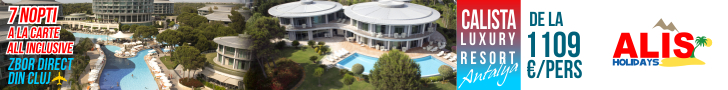 AlisHolidays Calista Luxury Resort Antalya