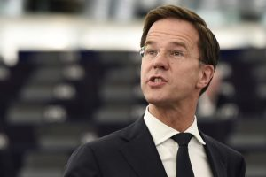 Dutch Prime Minister Mark Rutte attends a debate on the outgoing Dutch Presidencys achievements at the European Parliament in Strasbourg, eastern France, on July 5, 2016.  / AFP / FREDERICK FLORIN        (Photo credit should read FREDERICK FLORIN/AFP/Getty Images)